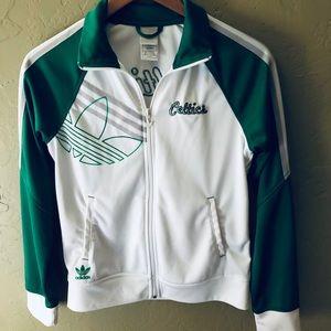 adidas Jackets & Coats - ADIDAS CELTICS Women's Small Jacket ☘️